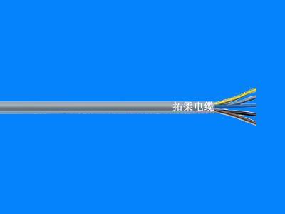 450/750V,PVC外护套彩色芯线标识动力控制电缆
